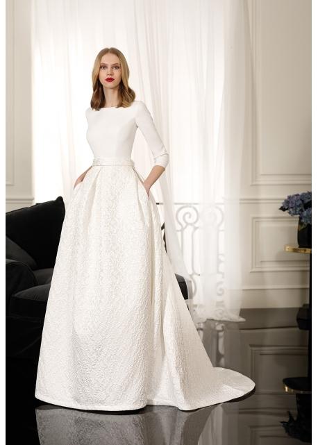 Vestido de Novia Metz Cabotine