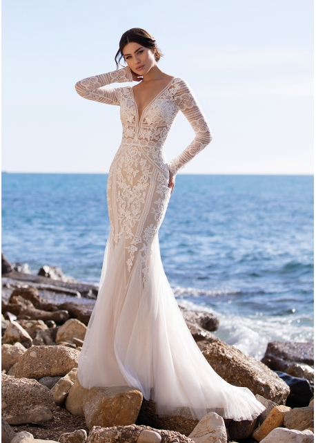 Vestido de Novia Romulea White One