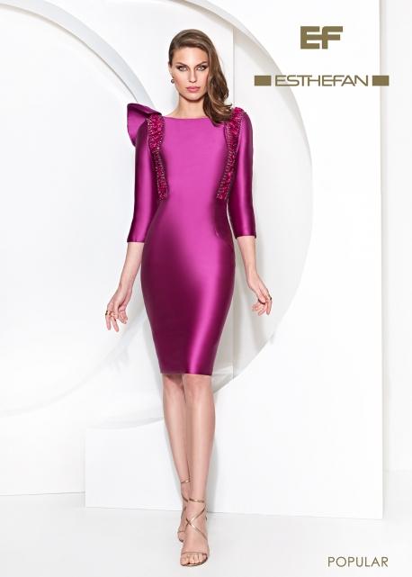 Vestido Pailletes Bicolor - Noeles Esthefan