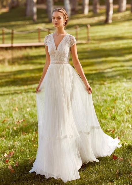 Vestido de Novia Kenner de Aire (Rosa Clará)