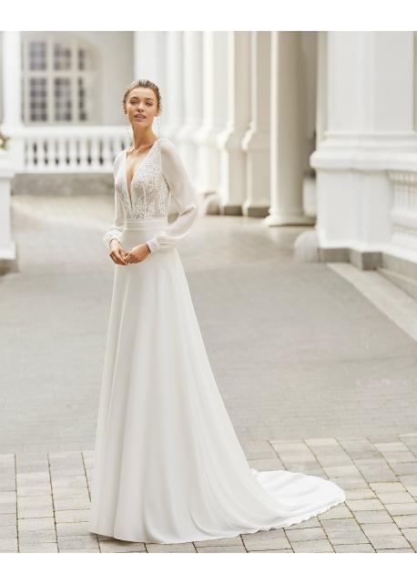 Vestido de Novia Sacha de Adriana Alier (Rosa...